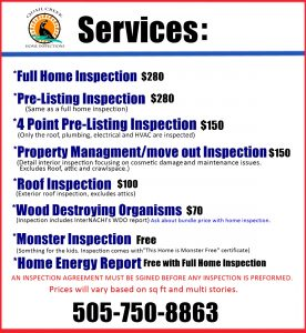 Quail creek home inspections